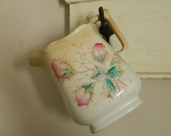 Vintage Floral Pitcher