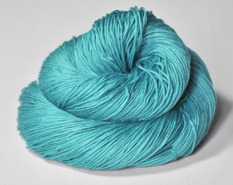 Cyan which must not be named - Silk/Cashmere Lace Yarn