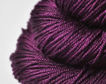 Burning fuchsia - Silk/Merino DK Yarn superwash