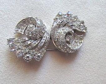 Coro Duette brooch