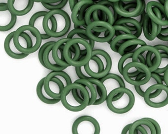 Rubber Rings:  Dark Green, 5mm, #1111