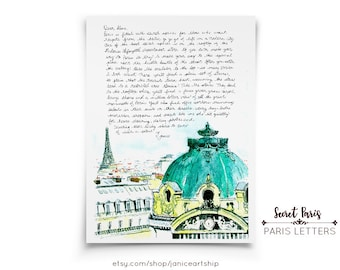 Opéra: Paris Letters, September, A letter about the best kept secret view of Paris, featuring the roof of the Opéra