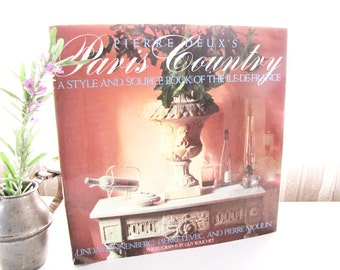 Country French Book French Photos Coffee Table Book Paris Country from AllieEtCie