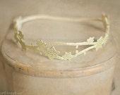 Baby Headband, Newborn Gold Headband, Flower Crown, Star Headband, Newborn Props, Baby Props, RTS,  Gold Props Headband, Flower Girl