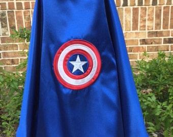 Captain America Super Hero Cape