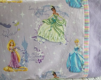 Disney Princess Childrens or Travel  Pillow Case