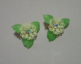 Lace Flower Earrings