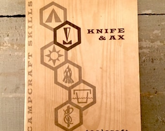 Campcraft Knife & Ax Girl Scout booklet