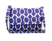Custom Reserved Listing for W - Purple Purse, No pockets
