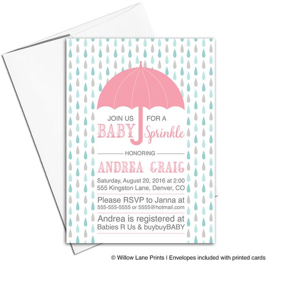 Baby sprinkle invitations girl sprinkle shower for baby girl il570xn filmwisefo
