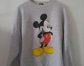 90s XL sweatshirt Mickey Mouse