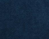 Indigo dark blue solid blue velvet decorative pillow cover