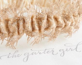 Bridal Garters, Bling Garter, Sparkle Garter, Glitter Bridal Garter, Lace Keepsake Garter, Garter With Bling, As Seen The Knot, SHIPS FREE