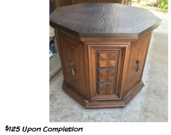 PAINT to ORDER Octagon Table ~ ASCP ~ Local Pick Up San Diego