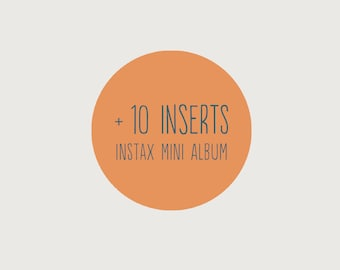 Add another 10 inserts to your Instax mini album