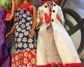 Vintage 1970s Malibu PJ Barbie and Debbie Boone Barbie dolls