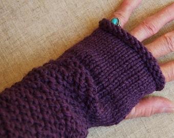 Wrist Warmers Handknit Warmers Hand Knitting Wool Handwarmers Girls Gloves Fall Apparel Teen Apparel Womens Knits Wool Mittens Handmade