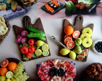1 tray of vegetables or fruit