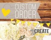 Custom listing for Leslie - RUSH - Express - 8/31d