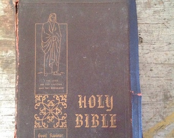 1950 Holy Bible Good Savior Edition