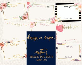 Custom Thank you Note