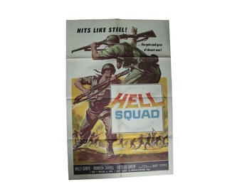 HELL SQUAD original movie poster