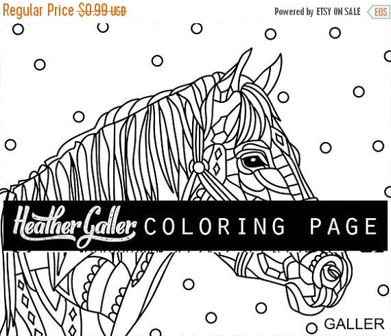 horse print off coloring pages - photo#34
