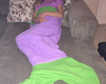 Pink Purple And Blue Mermaid Tail By Dandeliondivas On Etsy