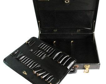 "Mid Century Jensen Tools Case ""Brief Case Style Small Tool Organizer"""