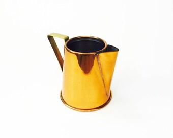Vintage Copper Creamer / Pitcher