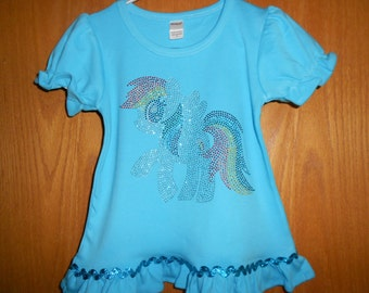 My Little Pony Rainbow Dash  T Shirt