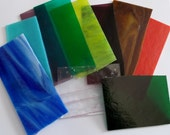 One Pound Fusible 90 COE Mixed Glasses Assortment for Glass Fusing - Sweet!
