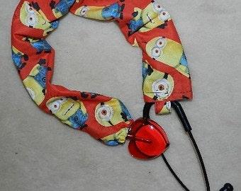 Minions Stethoscope Sock