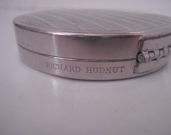 Vintage Art Deco Powder Compact Richard Hudnut New York Paris Deauville 1920's