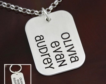 Blessings {large} - Family Necklace / Key Ring