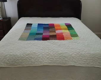 Quilt Big Charming Quilt TWIN Ready to Ship