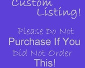 Custom Order for kaylfis