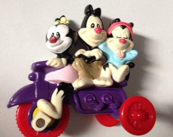 "Yakko, Wakko & Dot!  Vintage Action Toy from Warner Brothers' ""Animaniacs"" Cartoon Series, 1993"