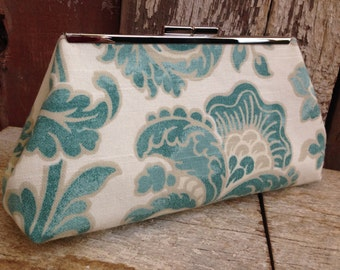 SALE Ready to Ship Only - Clutch  Shades of Limpet Shell Accent