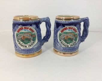 Vintage Souvenir Mug Stein Nashville Tennessee Grand Ole Opry Made in Japan
