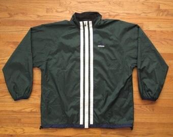 vintage Adidas soccer jacket