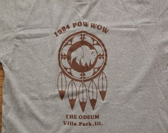 vintage Pow Wow t shirt