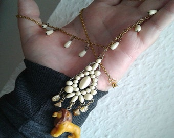 Lion King Necklace - Grown up SIMBA /MUFASA NECKLACE - 90's gear - Please Read