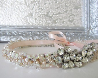 Wedding Headband, Bridal Headband, Bridal Headpiece, Bridal Hair, Vintage Wedding, Bridal Accessories