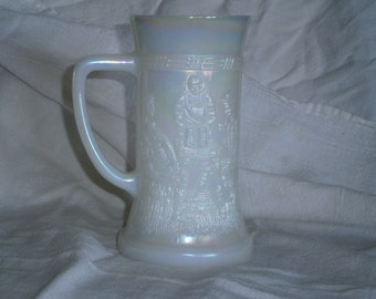 Vintage Federal Glass Beer Stein