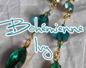 RESERVED Custom Order bohemian jean skirt Renaissance Denim Couture