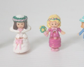 Polly Pocket Figures from Polly Pocket Wedding Chapel