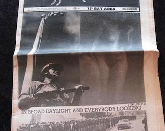 Berkeley Barb 1968 V6 17 141 Underground Newspaper Counterculture Black Panthers