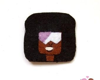 Garnet Crystal gems, from Steven Universe pin garnet brooch
