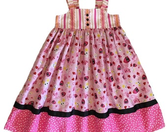 Girls Knot Dress Lolaloopsy Collection Lalaloopsy Inspired LIMITED EDITION Toddler Infant Girls